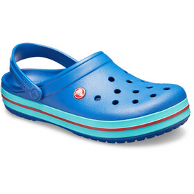 Crocs Crocband Clogs zoccoli, blue jean/pool
